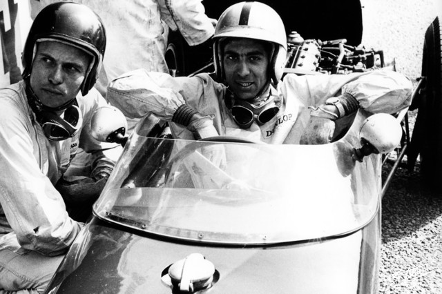 1960 GP de Bélgica Clark-Stacey