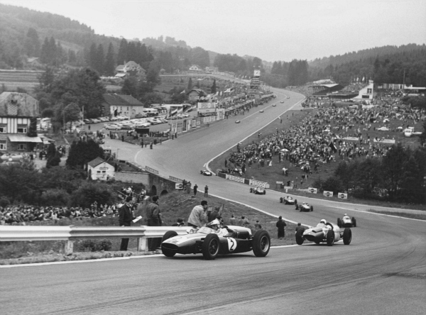 1960 GP de Bélgica Jack Brabham - Cooper - Spa-Francorchamps(LAT Photo).