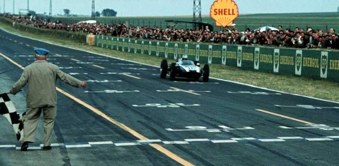 1960 GP de Francia Jack Brabham