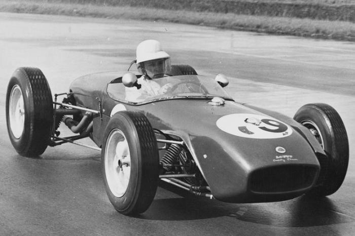 1960 GP de Inglaterra - John Surtres  Lotus 18
