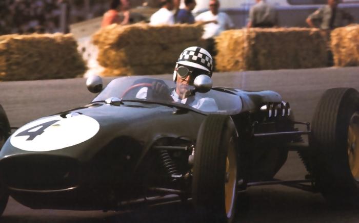 1960 GP de Holanda  zandvoort - innes ireland (lotus 18-climax)