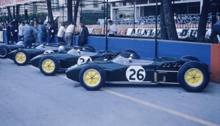 1960 GP de Monaco - Escudería Lotus