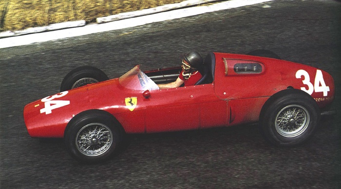 1960 GP de Monaco - Richie Ginther, Ferrari 246P