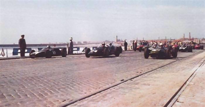 1960 GP de Portugal Salida