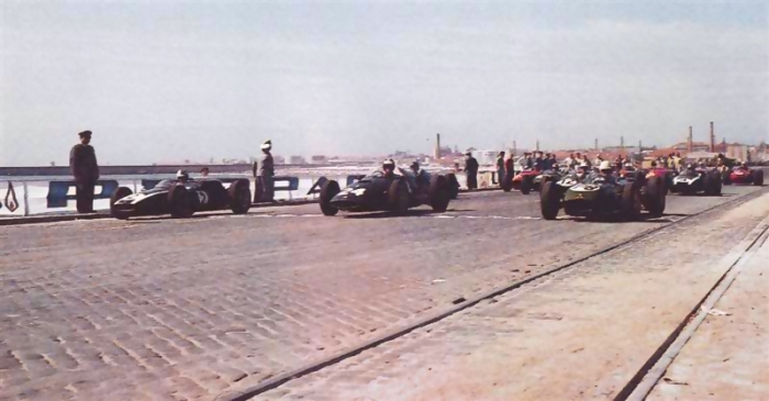 1960 GP de Portugal Salida