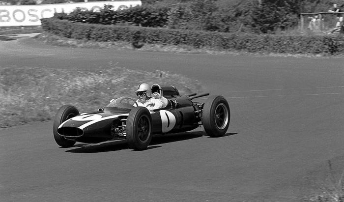 1961 GP de Alemania Jack Brabham, Cooper-Climax T55