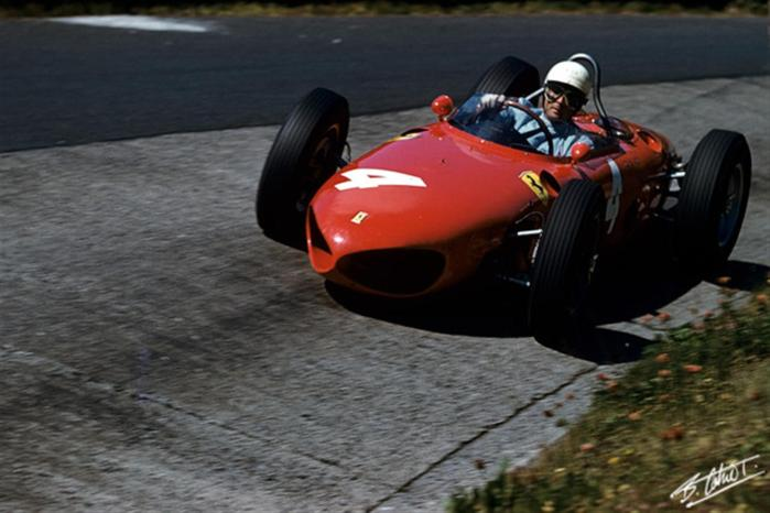 1961 GP de Alemania Phil Hill