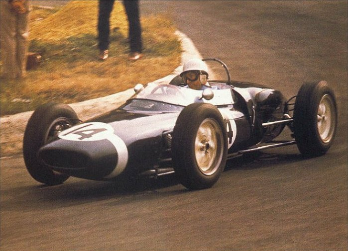 1961 GP de Bélgica (Stirling Moss, Lotus 18-21)