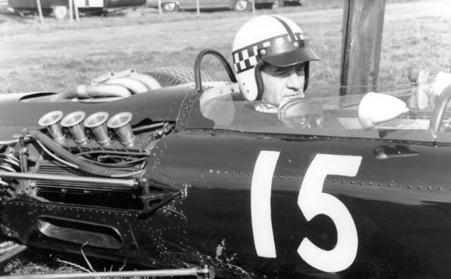 1961 GP de EEUU Innes Ireland, Watkins Glen, Lotus 21