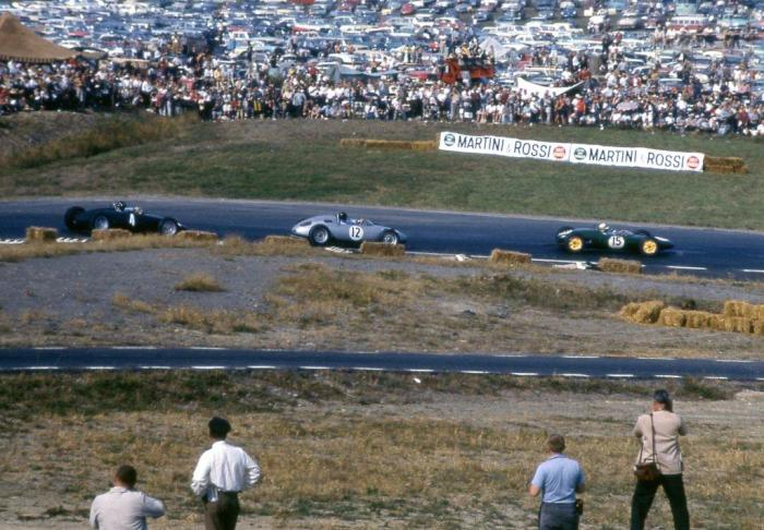1961 GP de EEUU Ireland-Gurney-GHill