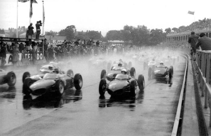 1961 GP de Gran Bretaña  Ferrari 156 F1