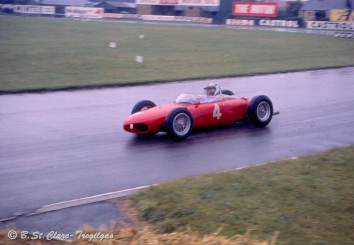 1961 GP de Gran Bretaña Wolfgang von Trips