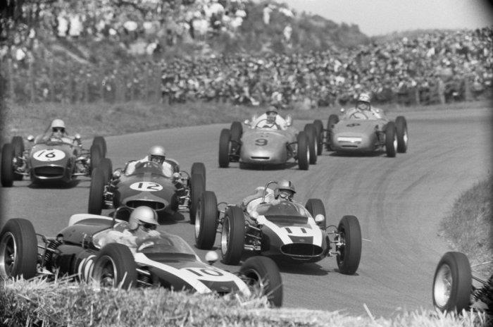 1961 GP de Holanda Start