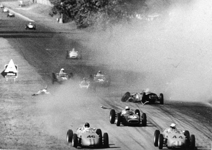 1961 GP de Italia Accidente de Wolfgang Von Trips