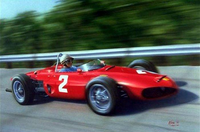 1961 GP de Italia Ferrari 156 F1 de Phil Hill