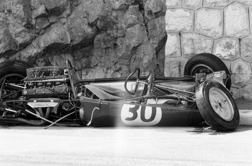 1961 GP de Mónaco Lotus 21  Innes Ireland