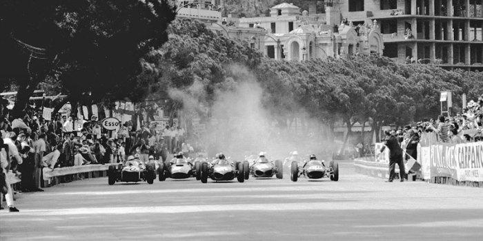 1961 GP de Mónaco Start