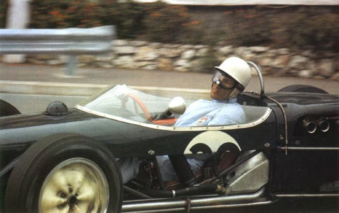 1961 GP de Mónaco Stirling Moss - Lotus 18