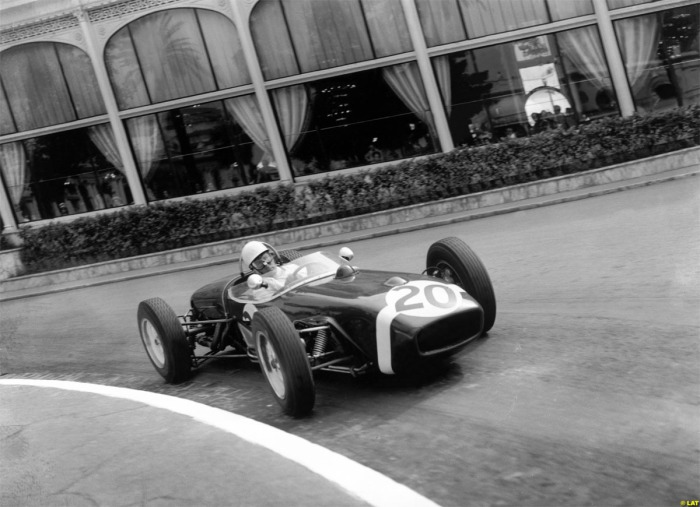 1961 GP de Mónaco Stirling Moss - Rob Walker Racing Team - Lotus Mk18