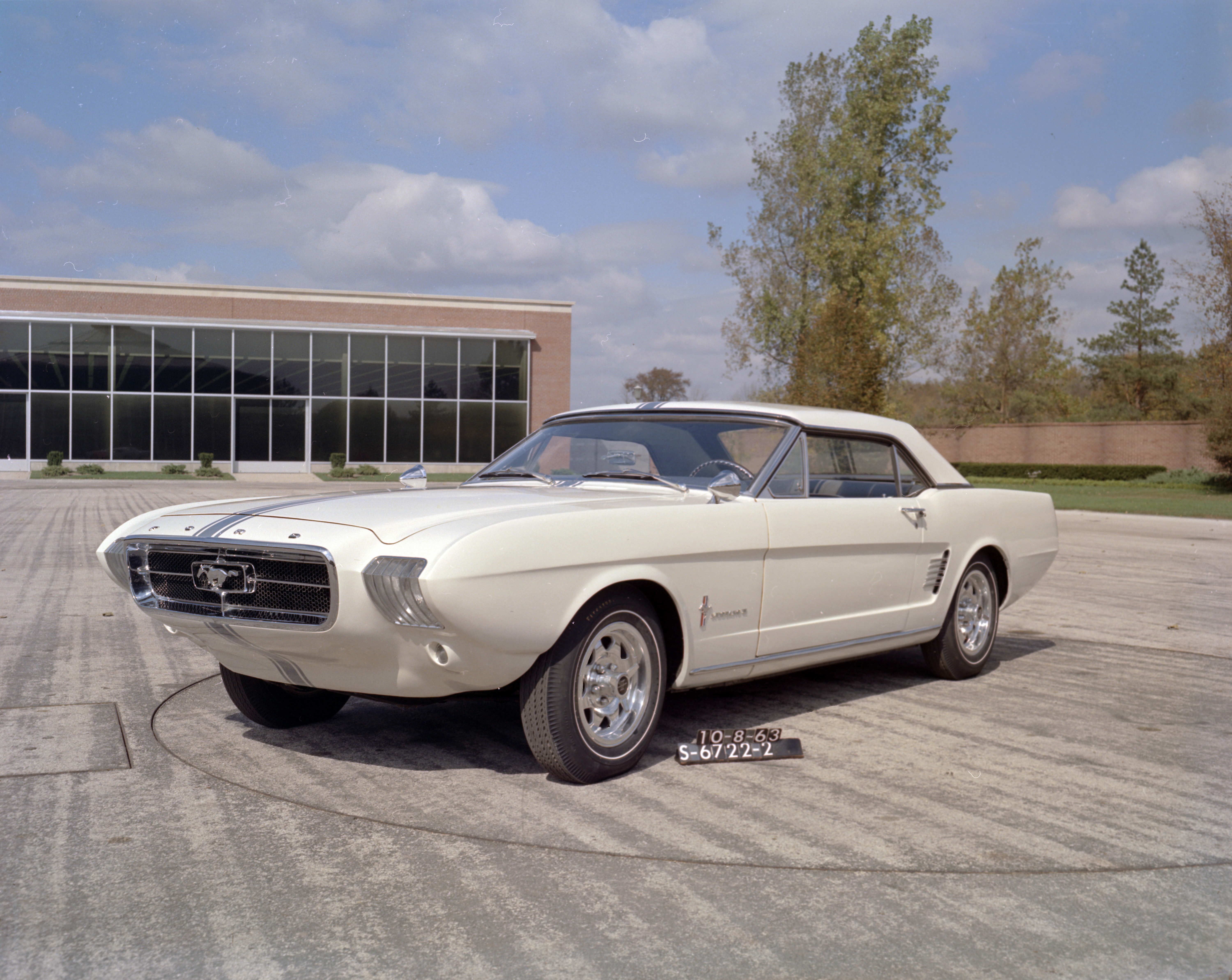 1963 ford mustang ii concept