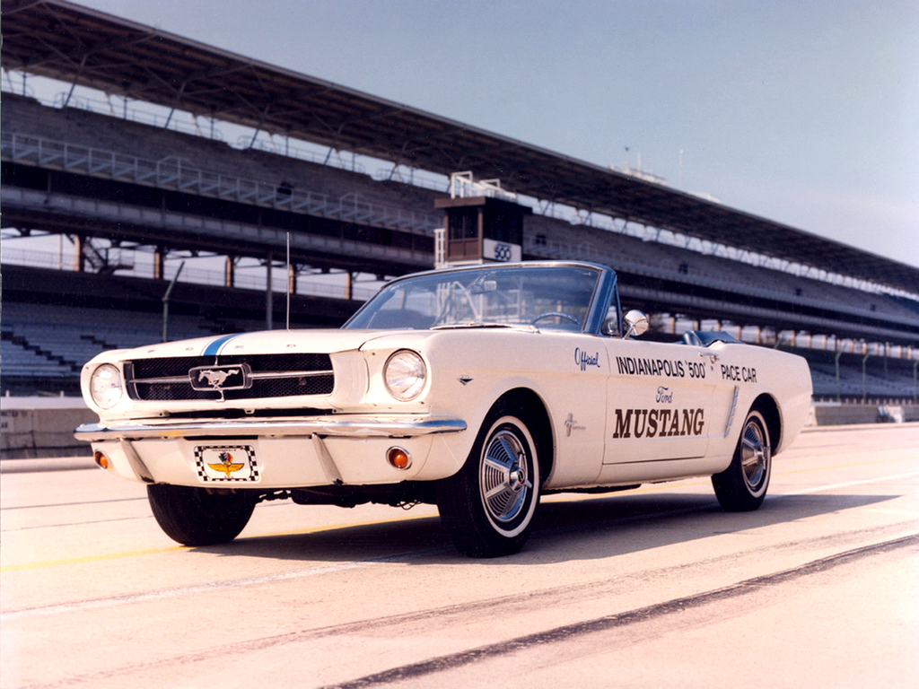 1964 mustang convertible indy 500 pace car
