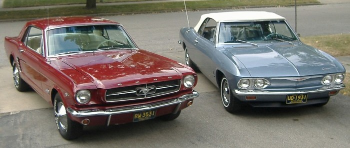 1965 Mustang vs. Corvair