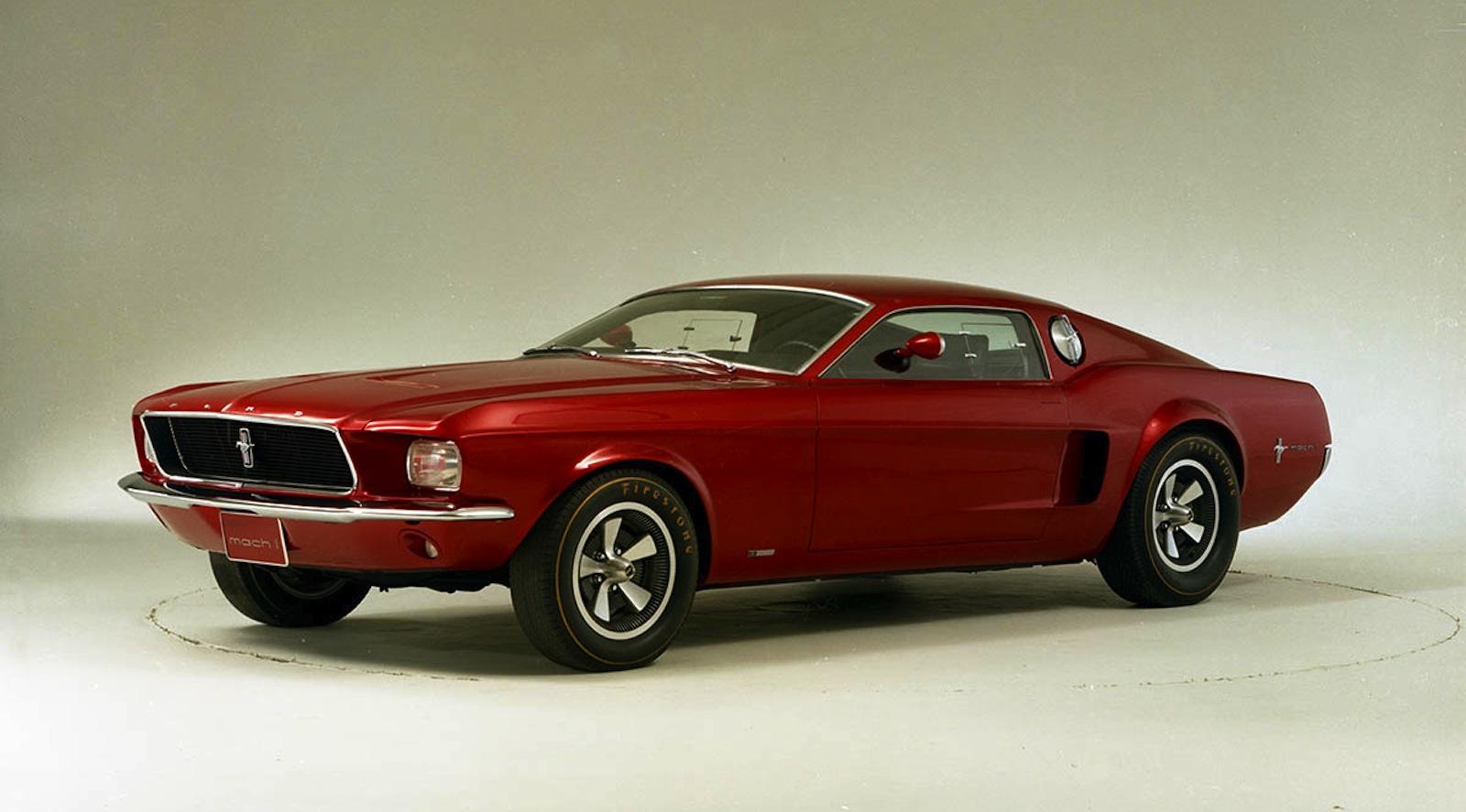 Mustang mach 1 concept