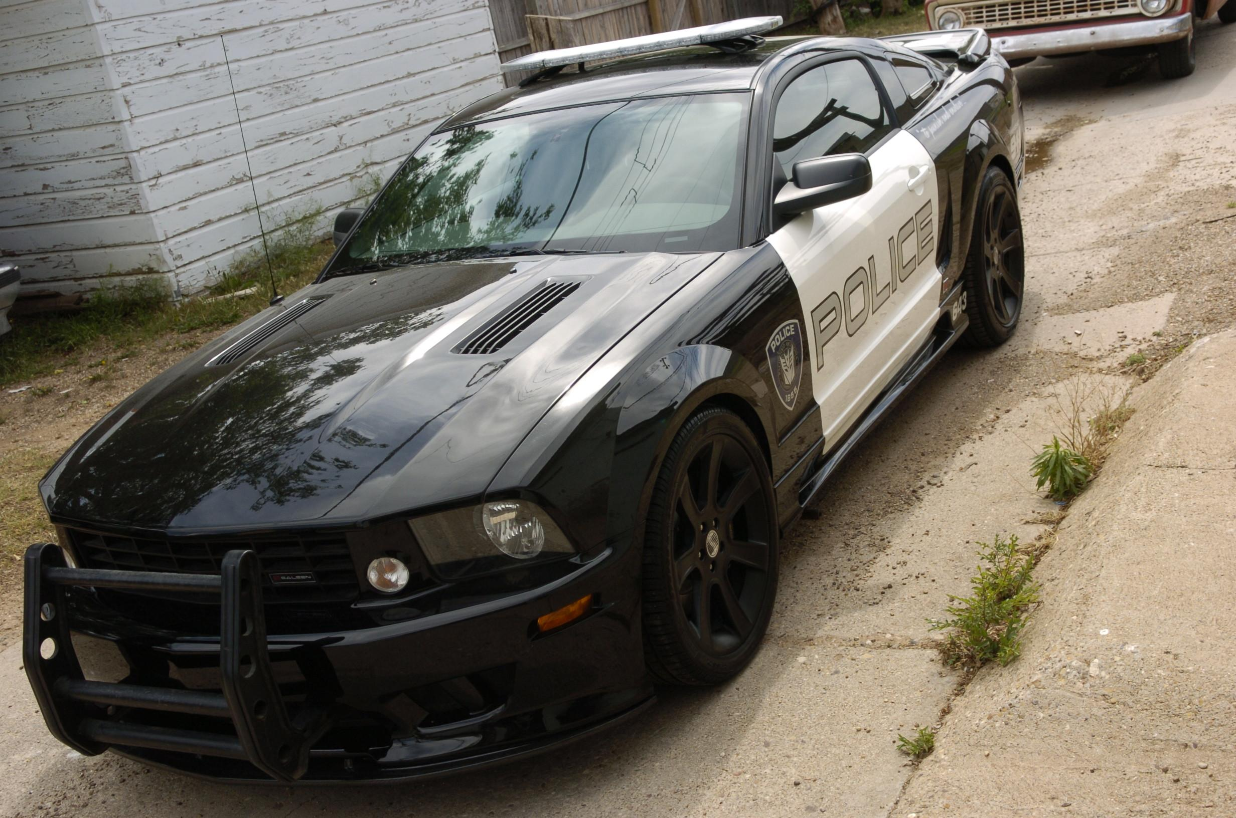 2008 ford mustang saleen extreme lapd cruiser coches clasicos de hoy. Black Bedroom Furniture Sets. Home Design Ideas