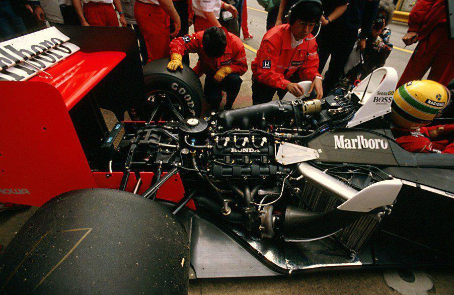 Mclaren Mp4 4 With The Last Turbo Engine Winner Honda