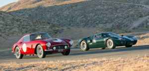 Ferrari 250 GT SWB and Ford GT40