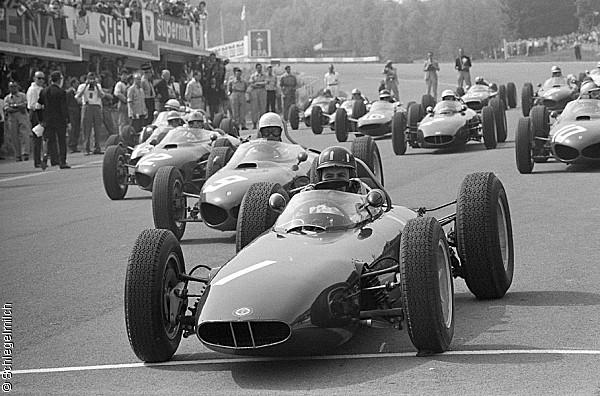 1962 GP de Bélgica Spa (Graham Hill, BRM P57)