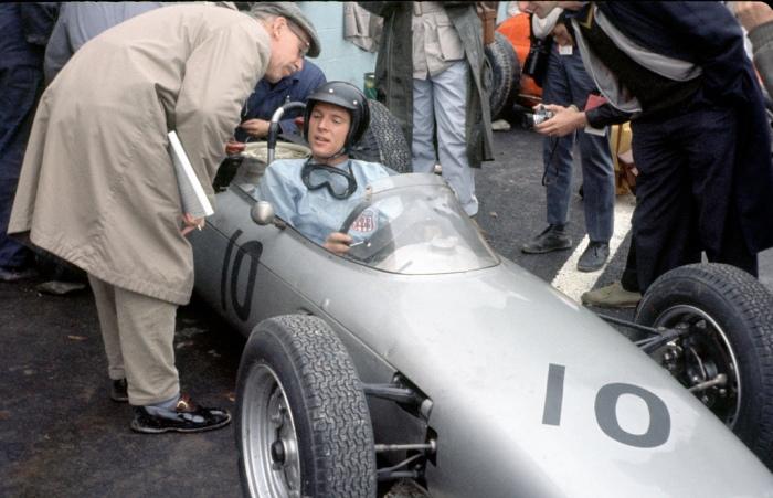 1962 GP de EEUU  Watkins Glen Huschke von Hanstein-Dan Gurney