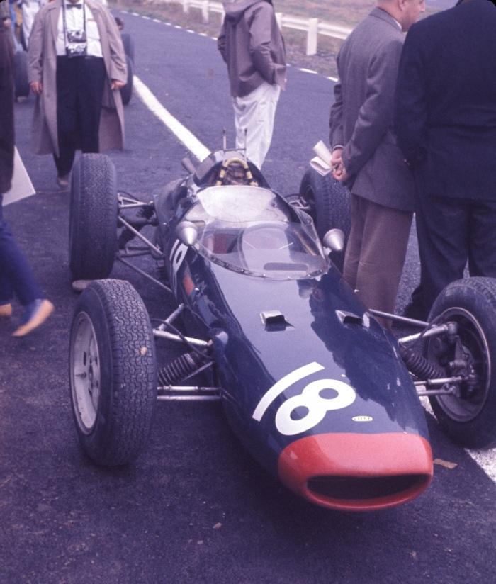 1962 GP de EEUU Watkins Glen Lola Mk4
