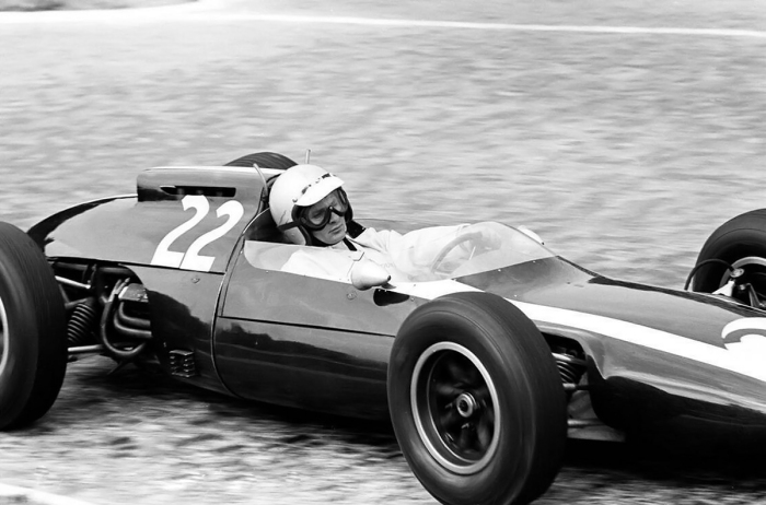 1962 GP de Francia -  Bruce mclaren