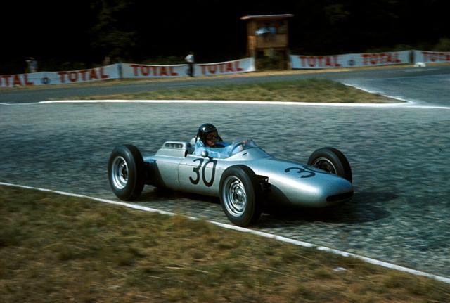 1962 GP de Francia Rouen (Dan Gurney, Porsche 802)
