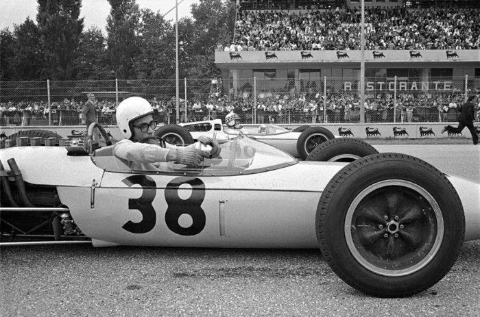 1962 GP de Italia Masten Gregory en Monza