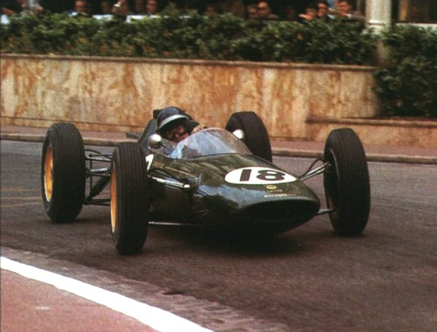 1962 GP de Mónaco (Jim Clark, Lotus 25)