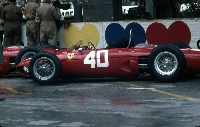 1962 GP de Mónaco The Sharknose Ferrari 156