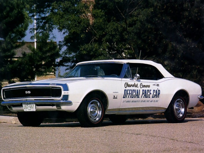 1967_Chevrolet_Camaro_SS_396_Convertible _Indy_500_Pace_Car