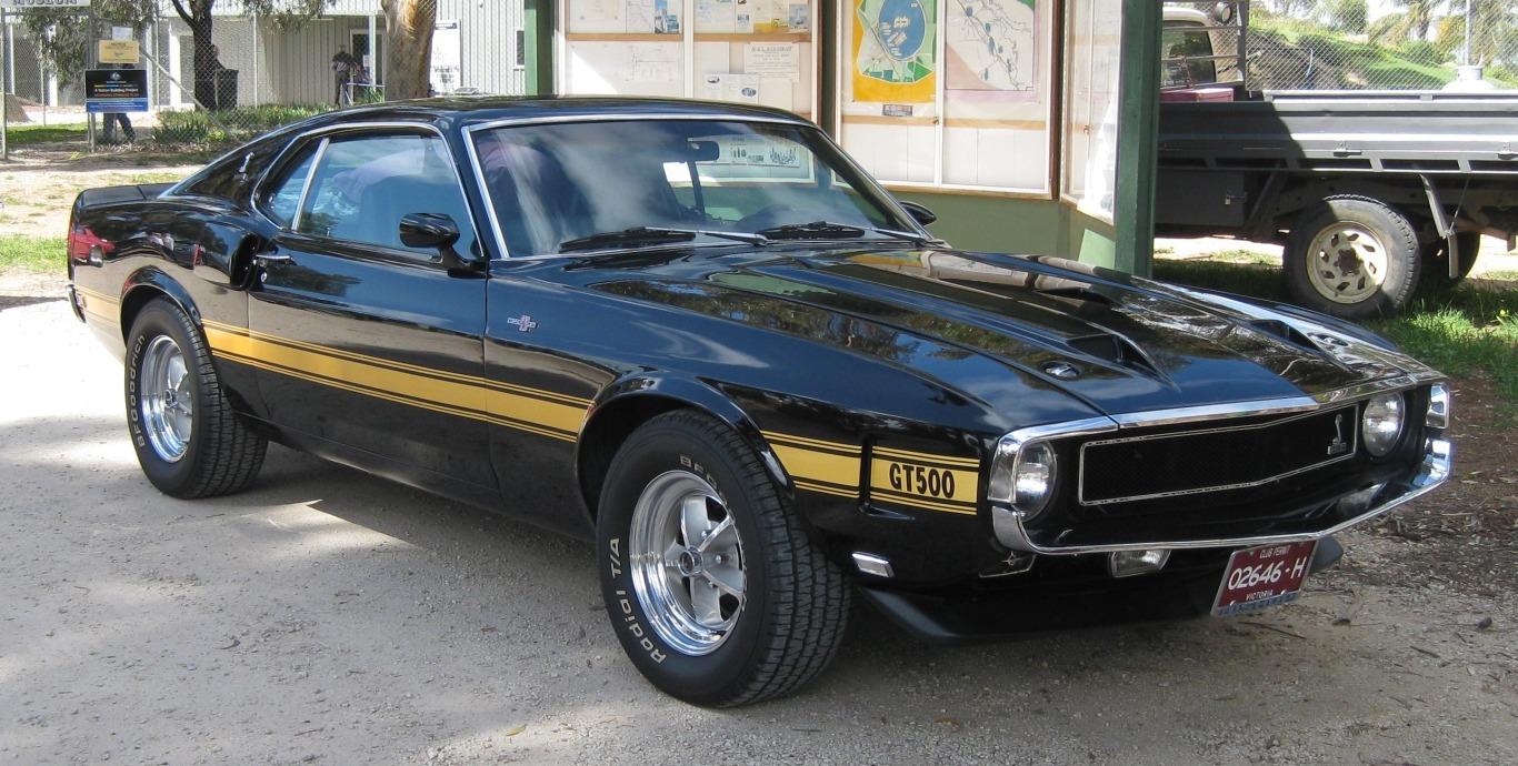 1969 Shelby GT 500 SportsRoof