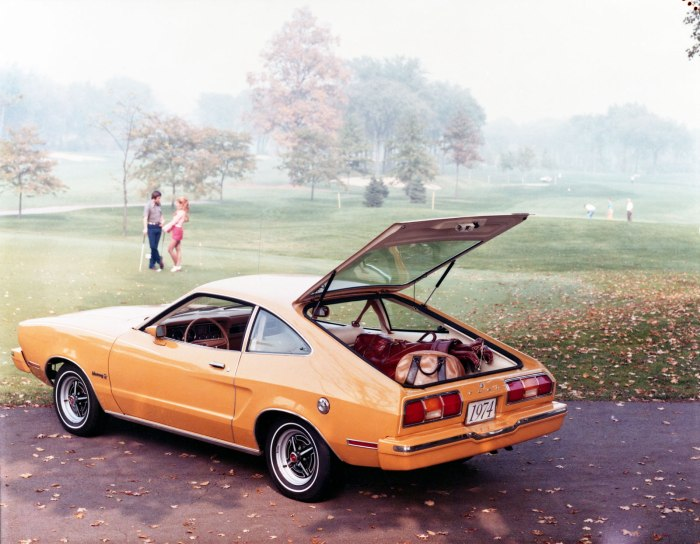 1974 Mustang-II hatchback
