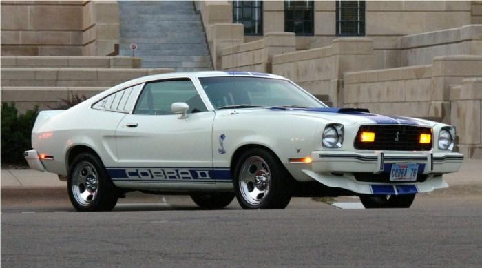 1976 Mustang Cobra II