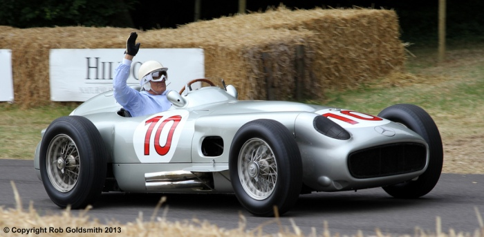 Stirling Moss Mercedes W196