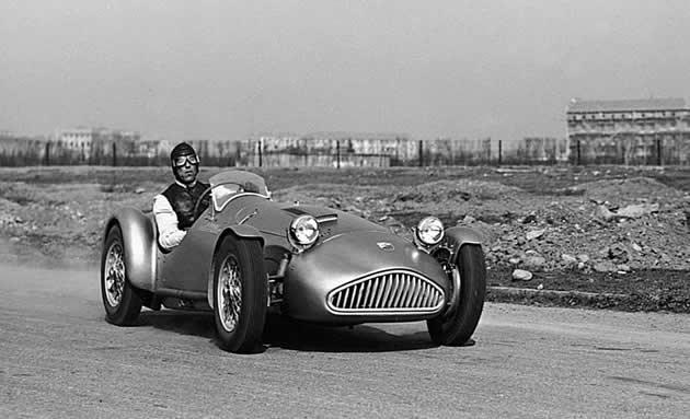 Último triunfo y última carrera para Nuvolari(no la msima ) Cisitalia Abarth 204