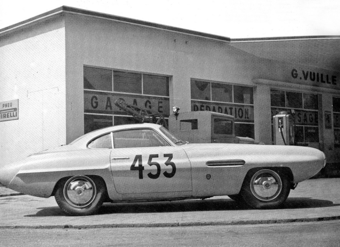 1953 Alfa Romeo Abarth 1900 Supersonic Conrero