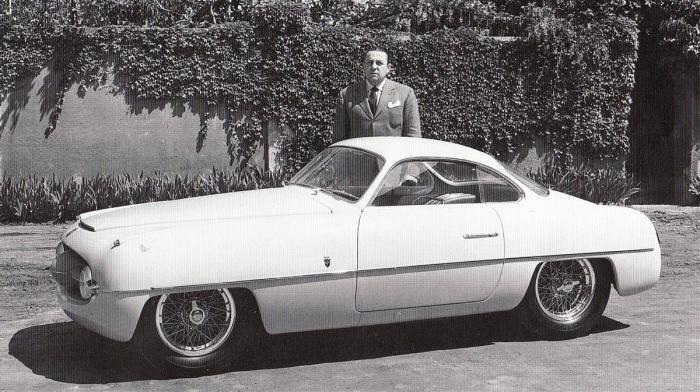 1953 Fiat Abarth Ghia 1100 concept