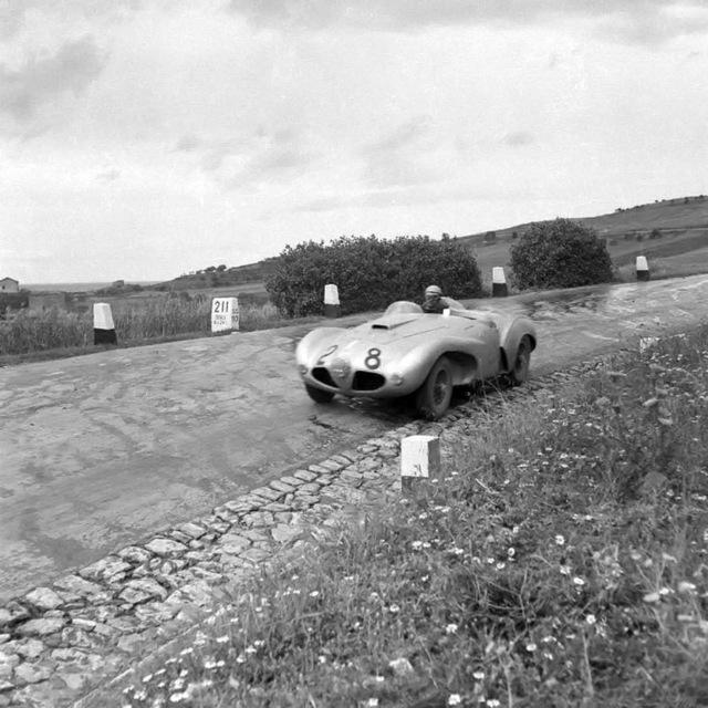 1953 Ferrari Abarth 166 MM - Giulio Musitelli - Targa Florio