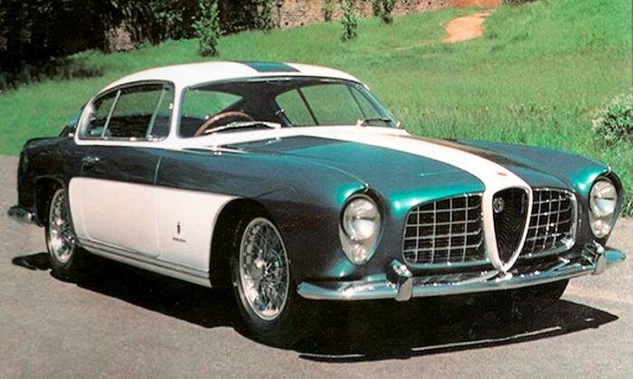 1954 Alfa Romeo Abarth 2000 coupe ghia