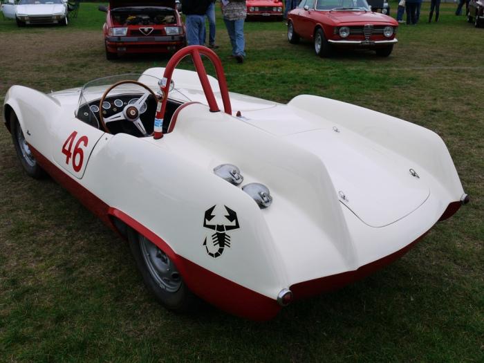 1955 Abarth 207A Boano Spyder