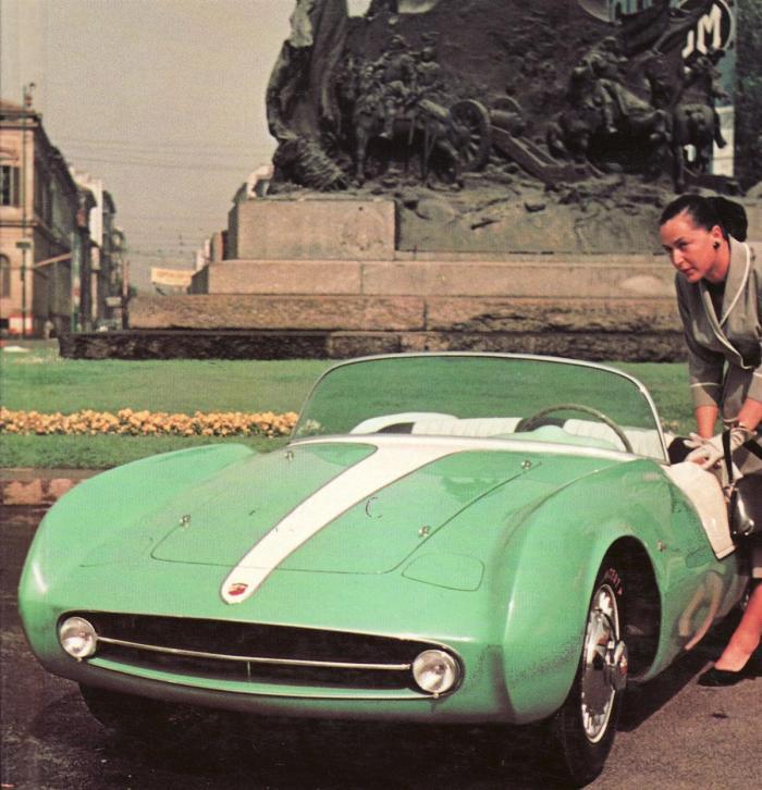 1955 Abarth 208A Spyder Boano
